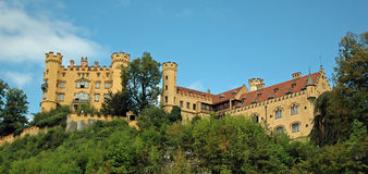 Castle Hohenschwangau Royalty Free Stock Photos