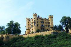Slot Hohenschwangau in Germany, in the German state of Bavaria Royalty Free Stock Photography