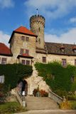 Castle hohenstein Royalty Free Stock Image