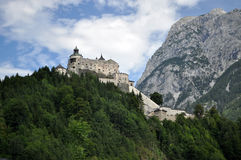 Castle Hohenwerfen, Austria Royalty Free Stock Photography