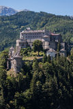 Castle Hohenwerfen near Salzburg in Austria Royalty Free Stock Photography