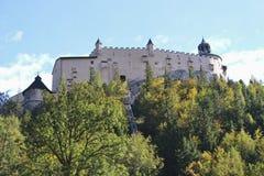 Castle Hohenwerfen, Salzburg, Austria, Europe. Royalty Free Stock Images