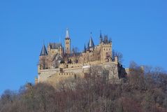 Castle Hohenzollern #1 Stock Photo
