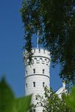 Castle Hohenzollern in Heiligendamm / Baltic Sea. In bright sunlight Stock Image