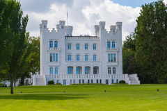Castle Hohenzollern in Heiligendamm at Baltic Sea Royalty Free Stock Images