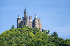 Castle Hohenzollern. An image of the Castle Hohenzollern in south Germany Royalty Free Stock Photo