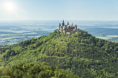 Castle Hohenzollern Royalty Free Stock Image