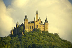 Castle of Hohenzollern, South Germany Royalty Free Stock Photos