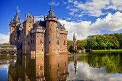 Castle of Holland Royalty Free Stock Photos