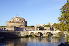 The Castle of the Holy Angel Royalty Free Stock Image