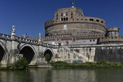 Castle of the Holy Angel, Rome, Europe Stock Image
