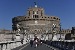 Castle of the Holy Angel, Rome, Europe Royalty Free Stock Photos
