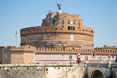 Castle of the Holy Angel in Rome, Italy. Royalty Free Stock Photography