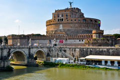 Castle of the Holy Angel. Rome.Italy. Royalty Free Stock Images