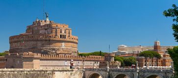 Castle of the Holy Angel. Rome, Italy. Royalty Free Stock Image