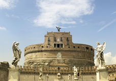 Castle of the Holy Angel in Rome Royalty Free Stock Image