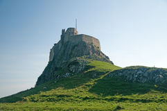 Castle on holy island Royalty Free Stock Image