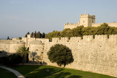 Castle of Hospitallers - Rhodes Stock Photos