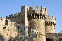 Castle of Hospitallers - Rhodes Royalty Free Stock Photo
