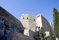 Castle of Hospitallers - Rhodes Stock Images