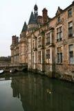 Castle hotel Stock Image