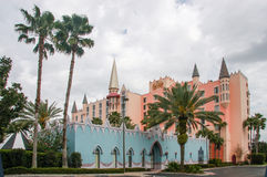 Castle hotel on International Drive in Orlando Stock Photography