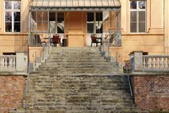 Castle hotel Ruehstaedt Royalty Free Stock Image