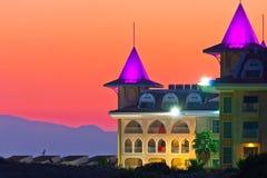 Castle hotel in turkey Stock Photo