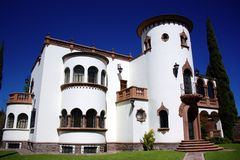 Castle house Royalty Free Stock Photo