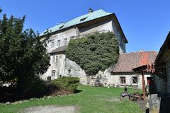 Castle Houska. In northern Bohemia, Czech republic royalty free stock image