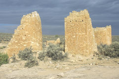 The Castle at  Hovenweep National Monument Indian ruins, UT Stock Photography
