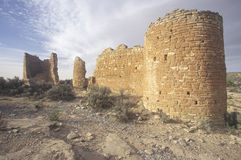 The Castle at  Hovenweep National Monument Indian ruins, UT Royalty Free Stock Photo
