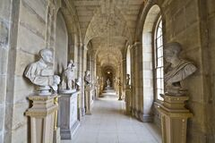 Castle Howard Antique Passage Royalty Free Stock Images
