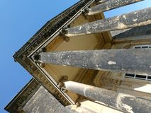 Castle howard temple four winds in the sun royalty free stock images