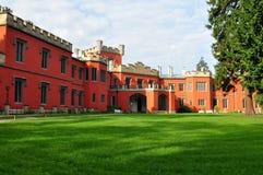 Castle Hradek u Nechanic near Hradec kralove in Cz Stock Image