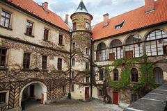 Castle Hruba Skala, Czech Republic. Stock Photo