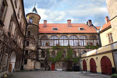 Castle Hruba Skala, Czech Republic. Royalty Free Stock Image
