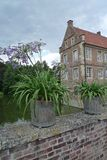 Castle Huelshoff Στοκ φωτογραφία με δικαίωμα ελεύθερης χρήσης