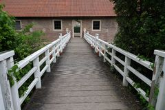 Castle Huelshoff Στοκ Εικόνα