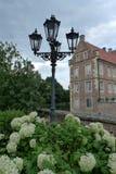 Castle Huelshoff Στοκ Εικόνες