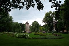 Castle Huelshoff Στοκ Φωτογραφία