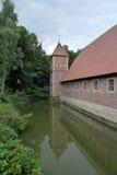 Castle Huelshoff Στοκ εικόνες με δικαίωμα ελεύθερης χρήσης