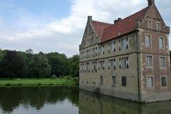 Castle Huelshoff Στοκ φωτογραφίες με δικαίωμα ελεύθερης χρήσης