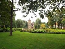 Castle Huelshoff (Bailey) Στοκ φωτογραφία με δικαίωμα ελεύθερης χρήσης