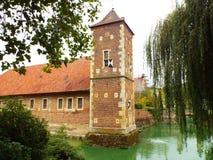 Castle Huelshoff (Bailey) Στοκ εικόνα με δικαίωμα ελεύθερης χρήσης