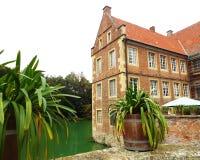 Castle Huelshoff (main castle). Roxel, Germany 2014 Stock Photography