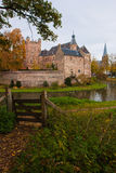 Castle huis ten berg. At the Netherlands is one of the greatest castle of the country Stock Photo