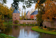 Castle huis ten berg Stock Photo