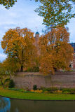 Castle huis ten berg. At the Netherlands is one of the greatest castle of the country Royalty Free Stock Image