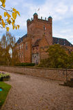 Castle huis ten berg Royalty Free Stock Image